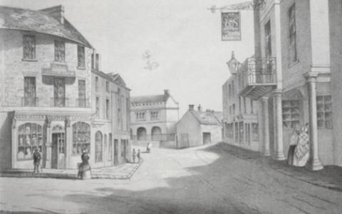 The Grosvenor Arms, Shaftesbury 19 Century