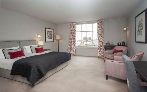 Premium room 12, The Grosvenor Arms, Shaftesbury