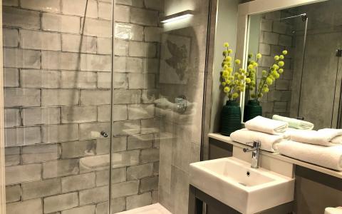 Premium room 14, bathroom